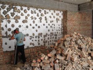 Демонтаж кирпичной кладки в Днепропетровске