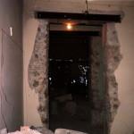 Демонтаж и расширение проёма в доме